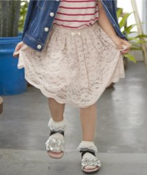 anyFAM(KIDS)/【KIDS】レース+ブロード スカート/500171760