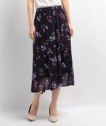 JUSGLITTY/【セットアップ対応商品】花柄プリントスカート/10250200N