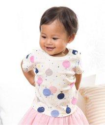 baby ampersand / F.O.KIDS MART/バルーン柄Tシャツ/500140724