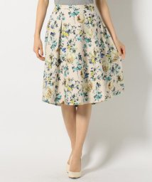NIJYUSANKU/【Vingt−trois Flicka】Flower Print skirt ス/500172054