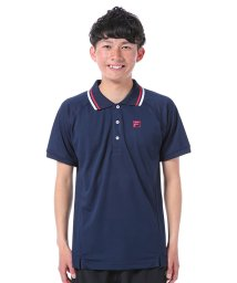 FILA/カノコメッシュ ワンポイントポロシャツ/500131993