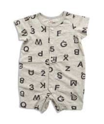 baby ampersand / F.O.KIDS MART/モノトーンロゴ柄ロンパス/500140728