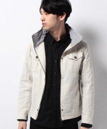 JNSJNM/【CREATE BAREFOOT】シャンブレースタンドジャケット/500151861