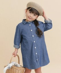 URBAN RESEARCH DOORS(Kids)/FORK&SPOON Chambray SHIRTS Dress(KIDS)/500177629