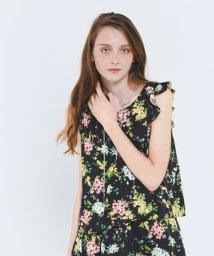 URBAN RESEARCH ROSSO/Lirica original flower pullover/500178991
