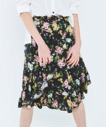 URBAN RESEARCH ROSSO/Lirica original flower flare skirt/500178995