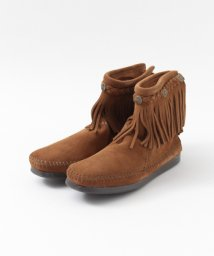 URBAN RESEARCH Sonny Label/MINNETONKA HI TOP BACK ZIP BOOT/500179080
