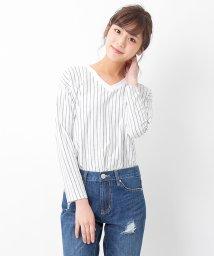 INGNI/【2017年SS商品】サイドスリットV/N Tシャツ長袖/500150882