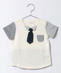 SENSE OF WONDER/BASICネクタイ付Tシャツ/500153302