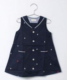 SENSE OF WONDER/ヨット刺繍ワンピース/500153305