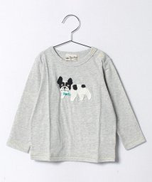 Love&Peace&Money/編みモチーフ長袖Tシャツ/500153546