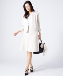 NIJYUSANKU/【洗えるスーツ】ハイコンパクトモクロディ スカート/500180010