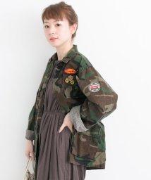 URBAN RESEARCH/ROTHCO×UR 別注ワッペンリメイクシャツブルゾン/500182139