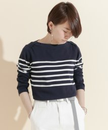 URBAN RESEARCH DOORS/FORK&SPOON Striped Boatneck Sweater/500183064