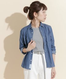 URBAN RESEARCH DOORS/FORK&SPOON Chambray Work Shirts/500183065