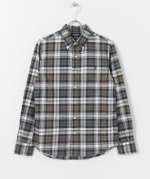 URBAN RESEARCH DOORS/GYMPHLEX MADRAS CHECK LONG−SLEEVE SHIRTS/500183386