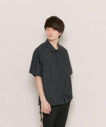 SENSE OF PLACE/ビッグシャツジャケット(5分袖)/500184705