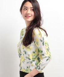STRAWBERRY FIELDS/フラワー柄カーディガン/500148617