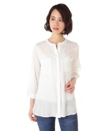 NATURAL BEAUTY BASIC/REビエラダブルポケットシャツ SB/500168841