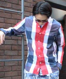 HILFIGER DENIM/ビッグチェックシャツ/500154132