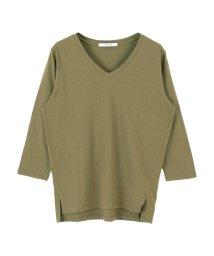 titivate/オーガニックコットン7分袖Tシャツ/organic/500191860