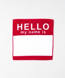URBAN RESEARCH Sonny Label/SECOND LAB. HELLO HAND TOWEL/500192988