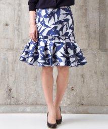 LANVIN en Bleu/【セットアップ対応商品】ペプラムスカート/LB0003682