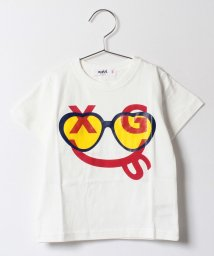 X-girl Stages/スマイリーサングラス半袖Tシャツ/500160725
