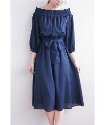 PROPORTION BODY DRESSING/《EDIT COLOGNE》オフショルオールインワン/500195952