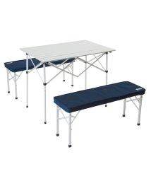 Alpine DESIGN/アルパインデザイン/2WAY テーブルベンチセット/500197561