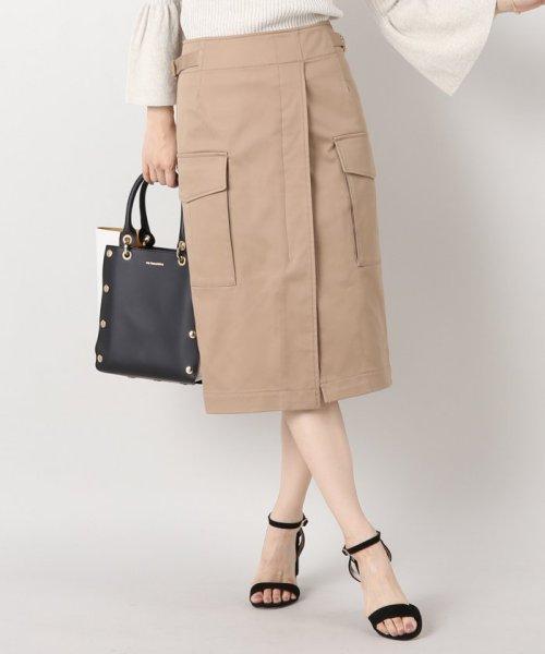IENA(イエナ)/綿ツイル ミリタリースカート/17060900602010