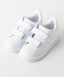 green label relaxing (Kids)/WEB限定【adidas(アディダス)】スタンスミス CFI 12cm−13cm/500160510