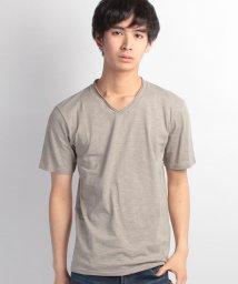 JNSJNM/【OUTDOOR PRODUCTS】スラブVネックTシャツ/500158743