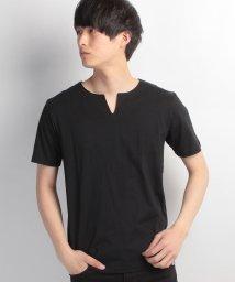 JNSJNM/【OUTDOOR PRODUCTS】ZERO STAIN 汗染み防止キーネックTシャツ/500158746