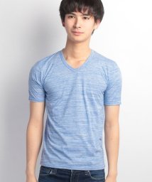 JNSJNM/【FORT POINT】ヒキソロエ杢VネックTシャツ/500158760