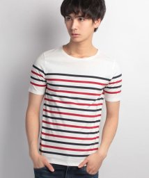JNSJNM/【OUTDOOR PRODUCTS】ZERO STAIN 汗染み防止マリンボーダーTシャツ/500159160