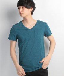 JNSJNM/【OUTDOOR PRODUCTS】ZERO STAIN 汗染み防止VネックTシャツ/500159162