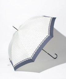 Afternoon Tea LIVING/EJ68 シンプルドット柄長傘(雨傘)/500159540