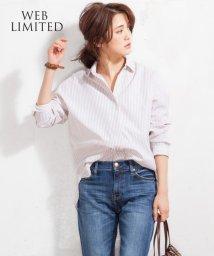 NIJYUSANKU/【WEB限定カラー有】Cancliniシャーティング スキッパーシャツ/500168164