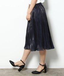 ROPE' PICNIC/シャイニーランダムプリーツスカート/500180304