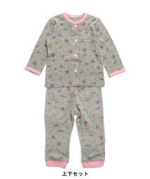 ampersand / F.O.KIDS MART/Girl's長袖前開きパジャマ/500143038