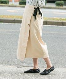 URBAN RESEARCH/【WAREHOUSE】キリコミラップスカート/500172561