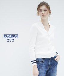 NIJYUSANKU/【CARDIGAN】LARGEBUTTON カーディガン/500205090