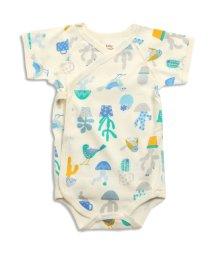 baby ampersand / F.O.KIDS MART/鳥とサボテン柄ボディーシャツ/500140733