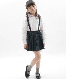 KOE/オケージョンチェックプリーツスカート/500166627