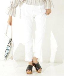 NIJYUSANKU/【洗えるスーツ】LI/VISストレッチ パンツ/500214355