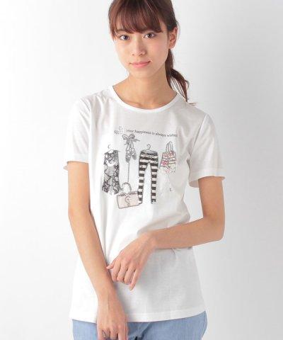 【Leilian(レリアン)】ファッションモチーフTシャツ