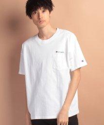JNSJNM/【CHAMPION】ドロップショルダーポケットTシャツ/500177305