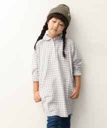 URBAN RESEARCH DOORS(Kids)/FORK&SPOON Gingham Pullover ONE−PIECE(KIDS)/500214071