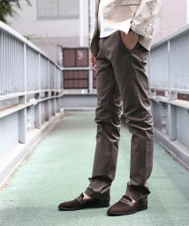 TAKEO KIKUCHI/トップマルチヘリンボンストライプパンツ/500216470